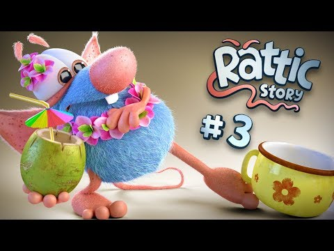 Funny Cartoon Compilation For Kids | Rattic  – All Episodes #3 | Funny Cartoons For Children & Kids