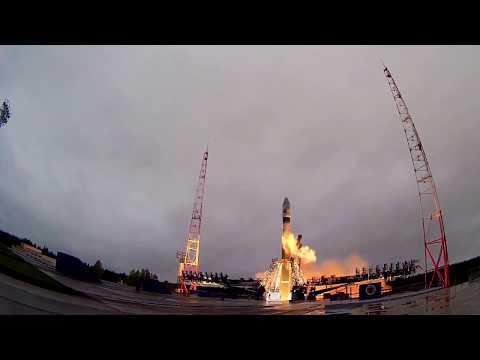 Запуск космического аппарата Минобороны России с космодрома Плесецк - DomaVideo.Ru