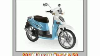 1. 2012 KYMCO People 50 - Features