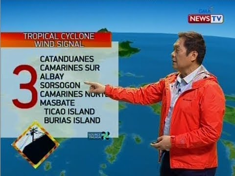 SONA Weather update as of 923 p.m. December 2, 2019