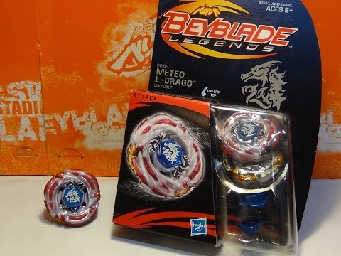 Beyblade Legends METEO L-DRAGO LW105LF Unboxing & Review!