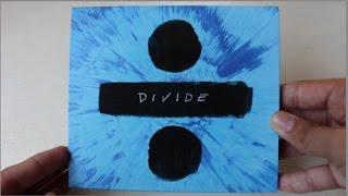 Ed Sheeran - Divide ( Album Deluxe Edition ) - Unboxing CD en Español