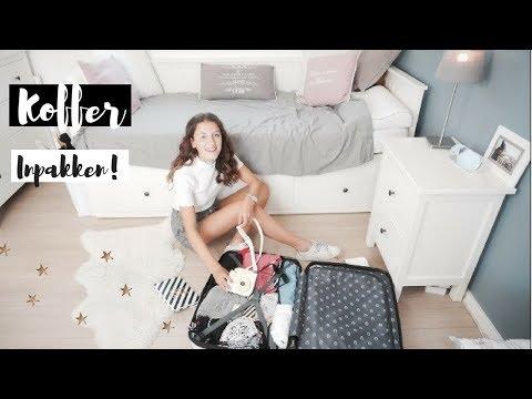 Koffer inpakken voor de zomervakantie + tips!   ♡ Eva Rose