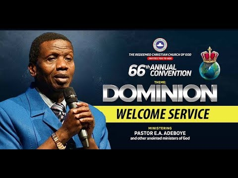 DAY 2 RCCG HOLY GHOST CONVENTION 2018 - WELCOME SERVICE