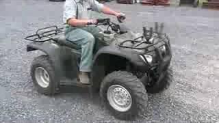 10. Honda Rancher 300 2006 4x4