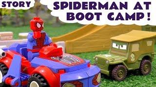 Spiderman at Boot Camp