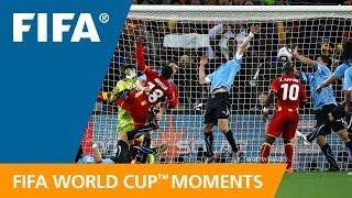 WM 2010: Suarez´ absichtliches Handspiel