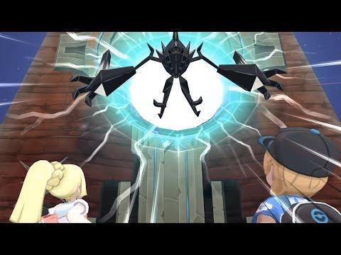 Pokemon Ultra Moon: Necrozma Boss Fight (4K)
