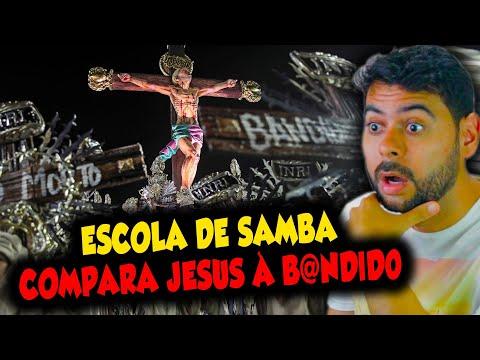 Escola de Samba compara JESUS à B@NDlID0