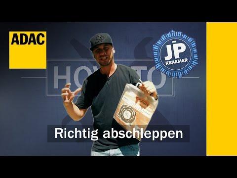 ADAC How To: Auto richtig abschleppen mit Jean Pierre Kraemer  | Folge 4