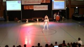 Miriam Schmid & Fabian Kuhn - Schwäbische Meisterschaft 2013