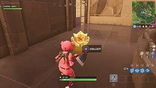WEEK 8 SECRET BATTLE STAR LOCATION! - WHY IS IT INVISIBLE IN FORTNITE