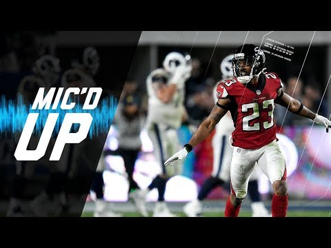 Video: Falcons vs. Rams Best Mic'd Up