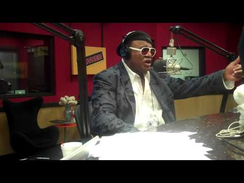 Comedian George Wallace interviews on the Tom Joyner Morning Show
