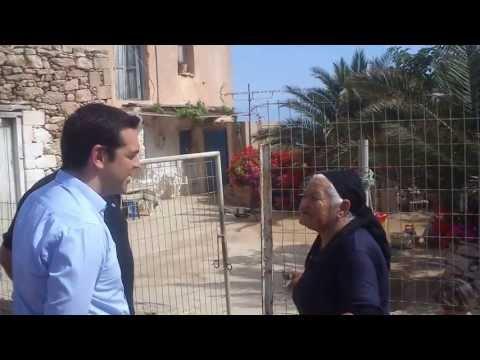 Η γιαγιά από τη Γαύδο που τα έχωσε στον Τσίπρα (video)