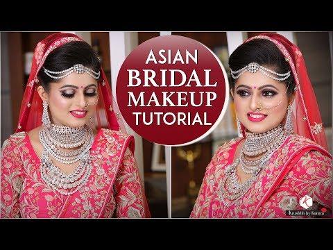 Video Asian Bridal Makeup Tutorial   Indian Wedding Makeup Tutorial   Krushhh By Konica download in MP3, 3GP, MP4, WEBM, AVI, FLV January 2017