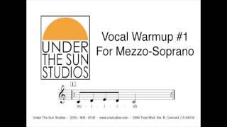 Vocal Warmup #1 for Mezzo-Soprano