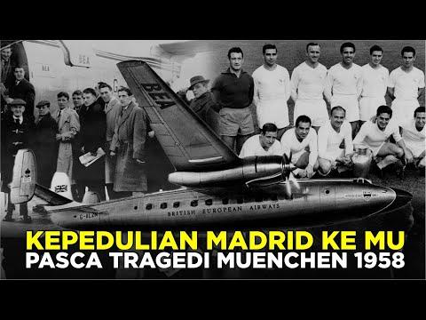 KISAH KEPEDULIAN MADRID KE MANCHESTER UNITED PASCA TRAGEDI MUENCHEN 1958