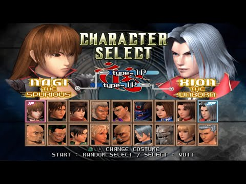 Bloody Roar 4 Opening and All Characters (PS2)