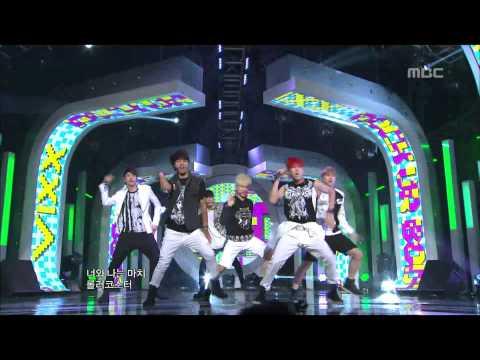 VIXX - Rock Ur Body, 빅스 - 락 유어 바디, Music Core 20120922 (видео)