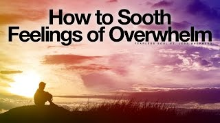 How To Sooth Feelings Of Overwhelm - Inspirational AffirmationsAlmost everyone gets overwhelmed. But we do have a choice. We can stay there and let the overwhelming feelings build, or we can decide to direct our attention elsewhere, to a better experience, to the magic of life.Download or Stream This Track to any device worldwide:https://goo.gl/OzbMl2FIND FEARLESS SOUL on:iTunes: https://goo.gl/OqbQyRYouTube: https://goo.gl/suwNT5Spotify: https://goo.gl/QpQVM8GooglePlay: https://goo.gl/XBx8rXAmazon MP3: http://amzn.to/2dsiXHWSpeaker: Jess ShepherdJess is an energy therapist from Australia with an amazing gift of helping others break through unconscious limiting beliefs and helping them live more abundant and happy lives. Learn more about what Jess can do at http://www.connectandcre8.comOfficial Website:http://www.iamfearlesssoul.comLet's Be Friends On Facebook!https://www.facebook.com/iamfearlesssoul/TWITTERhttps://twitter.com/iamfearlesssoulINSTAGRAM:http://www.instagram.com/iamfearlesssoul/If you loved this, please share the video and spread the message on Social Media using the share links in this video.Thank you for watching___Transcript:There are going to be times when we feel overwhelmed.  Life, family, relationships, responsibilities of work, dealing with our own thoughts and feelings.  We can also feel overwhelm when things are not happening as quickly as what we would like them to, when change seems slow, or when we are feeling out of control within our current  conditions.  As a conscious creator we can influence our response to conditions and eventually affect outcomes with our focus and attention.   Abraham – Hicks talks about these times as being step 1 moments, when you are aware of contrasting conditions that are not yet matching up with your desires.  In these moments I would like to help you sooth yourself because after your all, worrying and stressing about situations with intense attention and focus on the problem is not going to help, in-fact it will enhance the feeling of overwhelm and keep what you really want at bay.So with a few deep breaths in and out, feeling the air coming into your body and the air leaving your body, in and out, feeling your body relaxing.  Talking in first person for you.Everything is all rightI am going to be okEverything is all right.Just relax, breathe