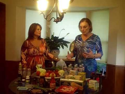 Roberta and Patricia- HCG what to eat and drink
