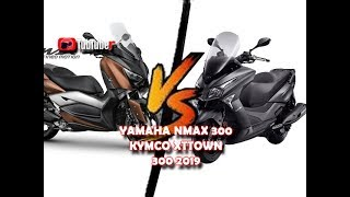1. YAMAHA XMAX 300 Compared Specifications KYMCO XTOWN 300i 2019 HD