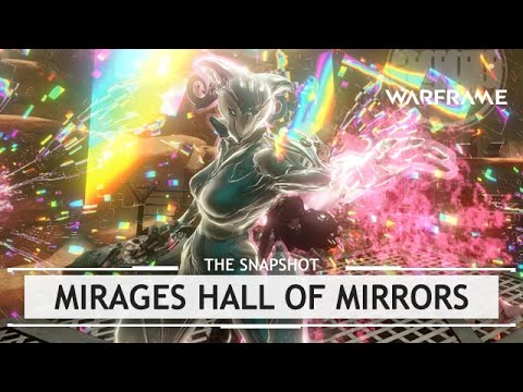 Warframe: Mirage's Optimized Hall of Mirrors Build – 3 Forma [snapshot]