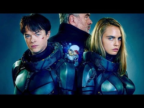 Valerian and the City of a Thousand Planets (On-Set)
