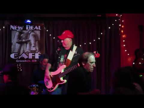 Linwood Taylor Band, Dust My Broom, New Deal Cafe, Greenbelt, Maryland, September 29, 2017