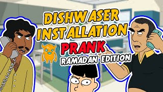 This guy has been waiting for MONTHS to have his dishwasher installed. I called him up as the contractor Abdo, and since it's Ramadan, asked that he help me carry and install it. He gets quite heated over it..  Download my automatic prank calling app and get 5 free calls! - http://own.ag/app The new Ramadan script (and a ton of others) is live and ready to send INSTANTLY :)Subscribe to catch my future videos! http://own.ag/youtubeFacebook--------------------- http://facebook.com/OwnagePranksTwitter ------------------------ http://twitter.com/OwnagePranks2nd channel / Extras ---- http://youtube.com/MrOwnagePranksMerchandise ---------------- http://ownagepranks.spreadshirt.comOwnage Pranks is a channel devoted to prank calls. With over nine misfit characters voiced by one comedian, Ownage Pranks brings you a weekly dose of unscripted and improvised pranks that are sure to make you fall out of your seat laughing. What began as a hobby to entertain friends in 2004 has since evolved into the most subscribed prank call channel on YouTube! Join the OP Crew by subscribing and tune in every week to catch our hilarious, wild and outrageous pranks!