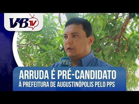 VBTv | Empres�rio Vanderlei Arruda � Pr�-Candidato a Prefeito de Augustin�polis