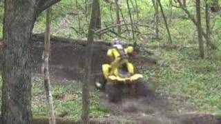 7. Riding Movie Polaris Scrambler 500 4X4 original footage