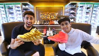 Video The Kid in Dubai with $1,000,000 in Shoes ... MP3, 3GP, MP4, WEBM, AVI, FLV Desember 2018
