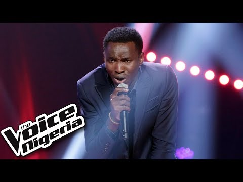 "Victor Thompson sings ""I knew You Were Trouble"" / Blind Auditions / The Voice Nigeria Season 2"