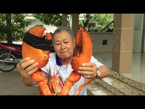 20k Sub, lần đầu ba ăn Lobster 4kg || Ăn cái càng đủ phê || Marking 20,000 subcribers - Thời lượng: 26:38.