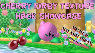 Cherry Kirby Melee Texture Hack Montage