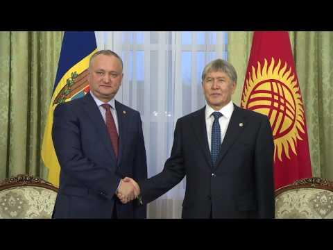 Igor Dodon a avut o întrevedere cu Președintele Republicii Kîrgîzstan