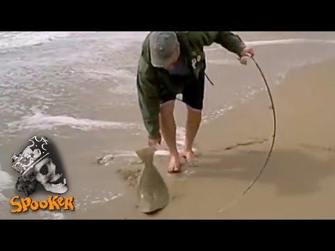 Surf fishing with grubs – Zuma Beach, CA 2010