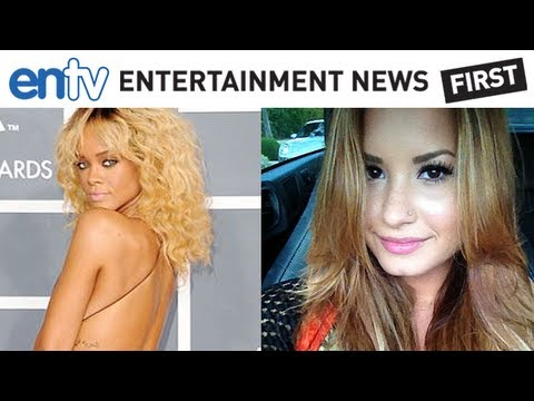 RIHANNA: Katy Perry, Demi Lovato and Adele, Sexy Celebs Ditching Natural Look and Going Blonde: ENTV