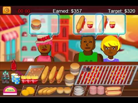 Cooking Game Video-Hotdog Shop