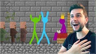 Video REACTING TO AMAZING ANIMATION Vs MINECRAFT! STICKMAN vs VILLAGERS! Minecraft Animations! MP3, 3GP, MP4, WEBM, AVI, FLV Agustus 2018