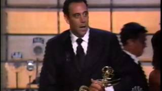 Brad Garrett wins 2002 Emmy Award for Supporting Actor in a Comedy Series