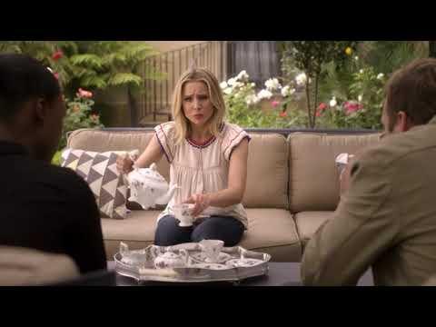 """Kristen Bell (2017) in Ryan Hansen solves crimes on television PART 1 s01e07 """"freezed"""""""