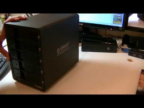 Orico 9558RU3 Enclosure Review- A cheap and suitable solution for backups