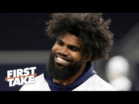 Video: Ezekiel Elliott's holdout is bad for the Cowboys - Marcus Spears | First Take