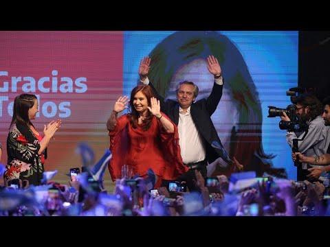Αριστερή στροφή στην Αργεντινή: Νέος πρόεδρος ο Αλμπέρτο Φερνάντες…