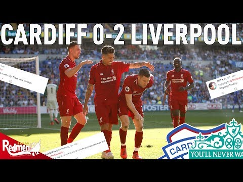 Cardiff V Liverpool 0-2 | #LFC Fan Twitter Reactions