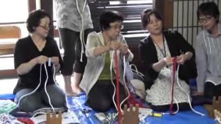 布ぞうり作り講習会
