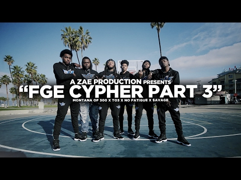 FGE Cypher Pt. 3 Feat. TO3, $avage & No Fatigue